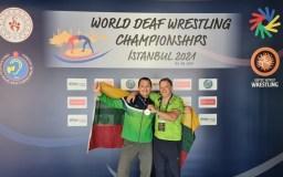 M. K. Sinkevičius – pasaulio kurčiųjų imtynių čempionas