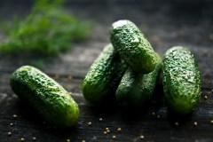 Korėjietiškai marinuoti agurkai
