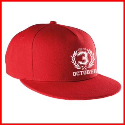 3_OCTOBER_Snapback_cap_rood