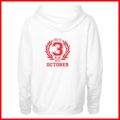 3-october hooded vest, capuchon vest