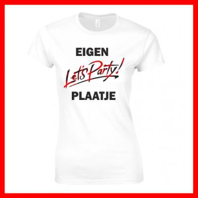 T-shirt Eigen Opdruk