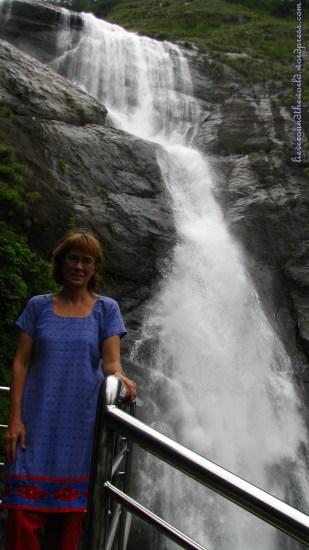 thenmala waterfall 3