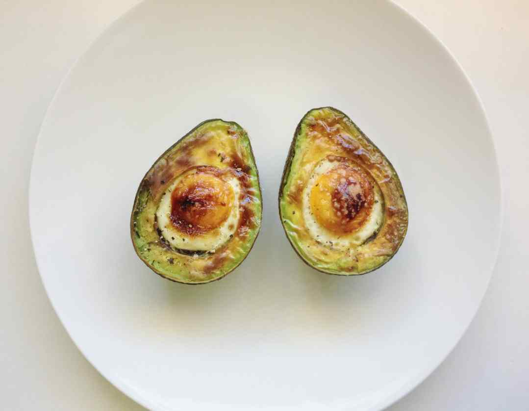 Grilled Avocado Eggs
