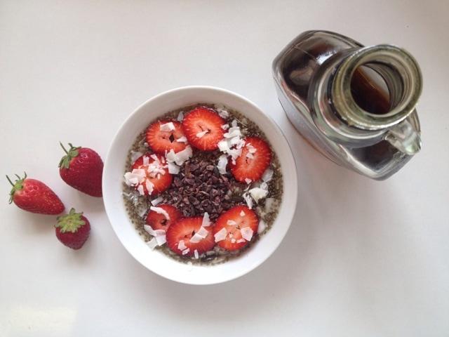 Chia Pudding (raw-vegan, dairy-free, sugar-free)