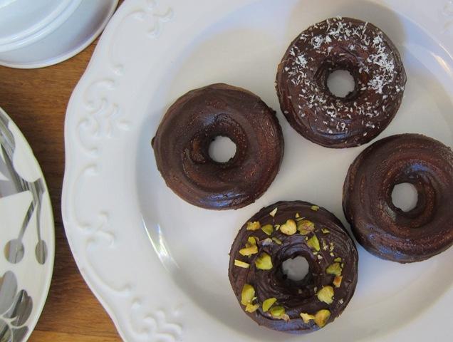 Deliciously Healthy Donuts (gluten-free, sugar-free, dairy-free)