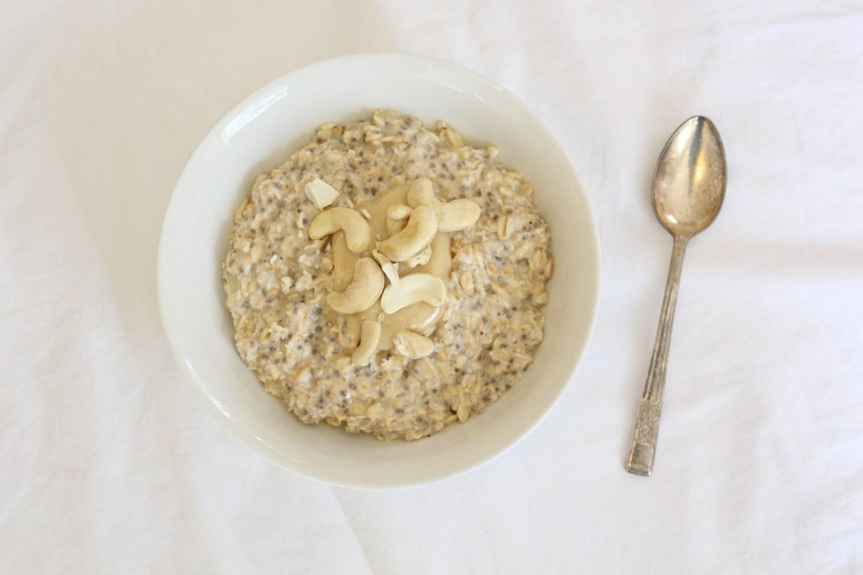 Overnight Chia Oats (gluten-free, sugar-free, dairy-free)