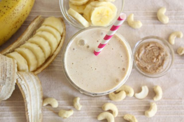 Classic Banana Smoothie (dairy-free, sugar-free, soy-free)