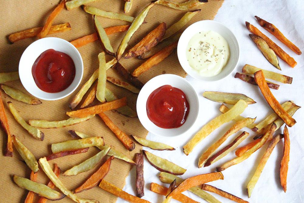 How to Make Healthy Sweet Potato Fries
