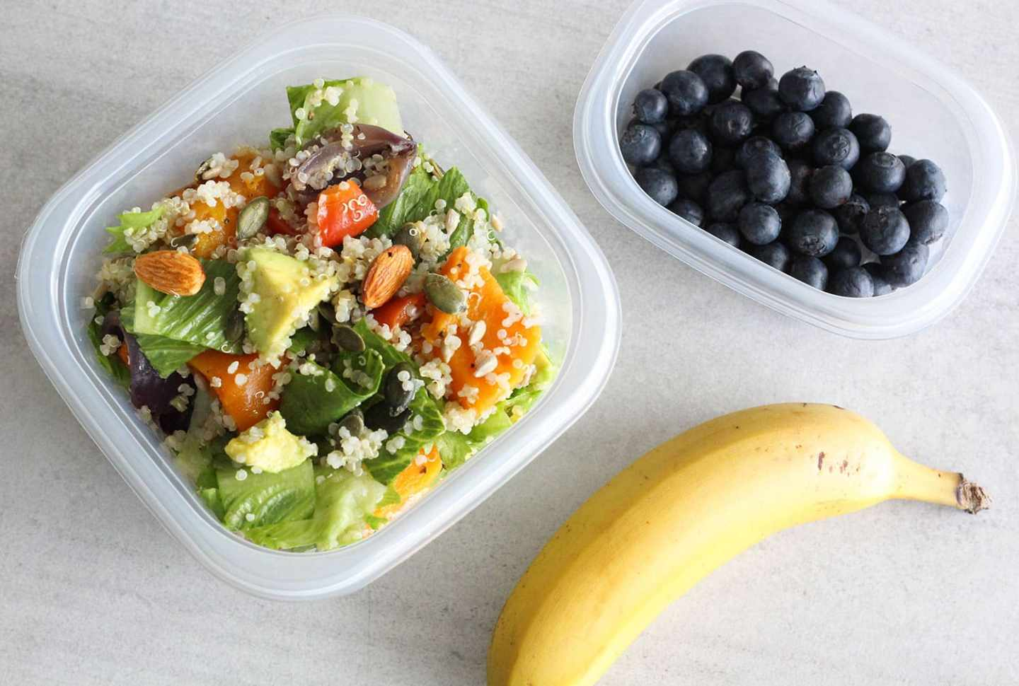 Easy Healthy Lunch Ideas For School or Work!