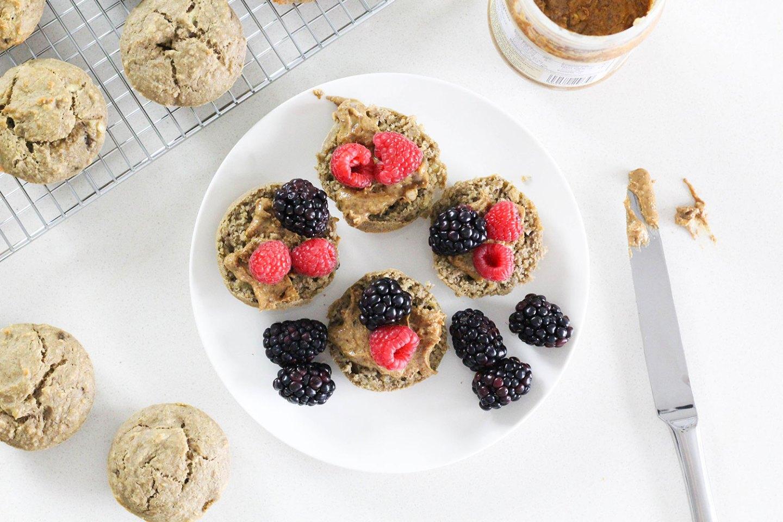 HEALTHY PROTEIN BREAKFAST MUFFINS (gluten-free, dairy-free, sugar-free)