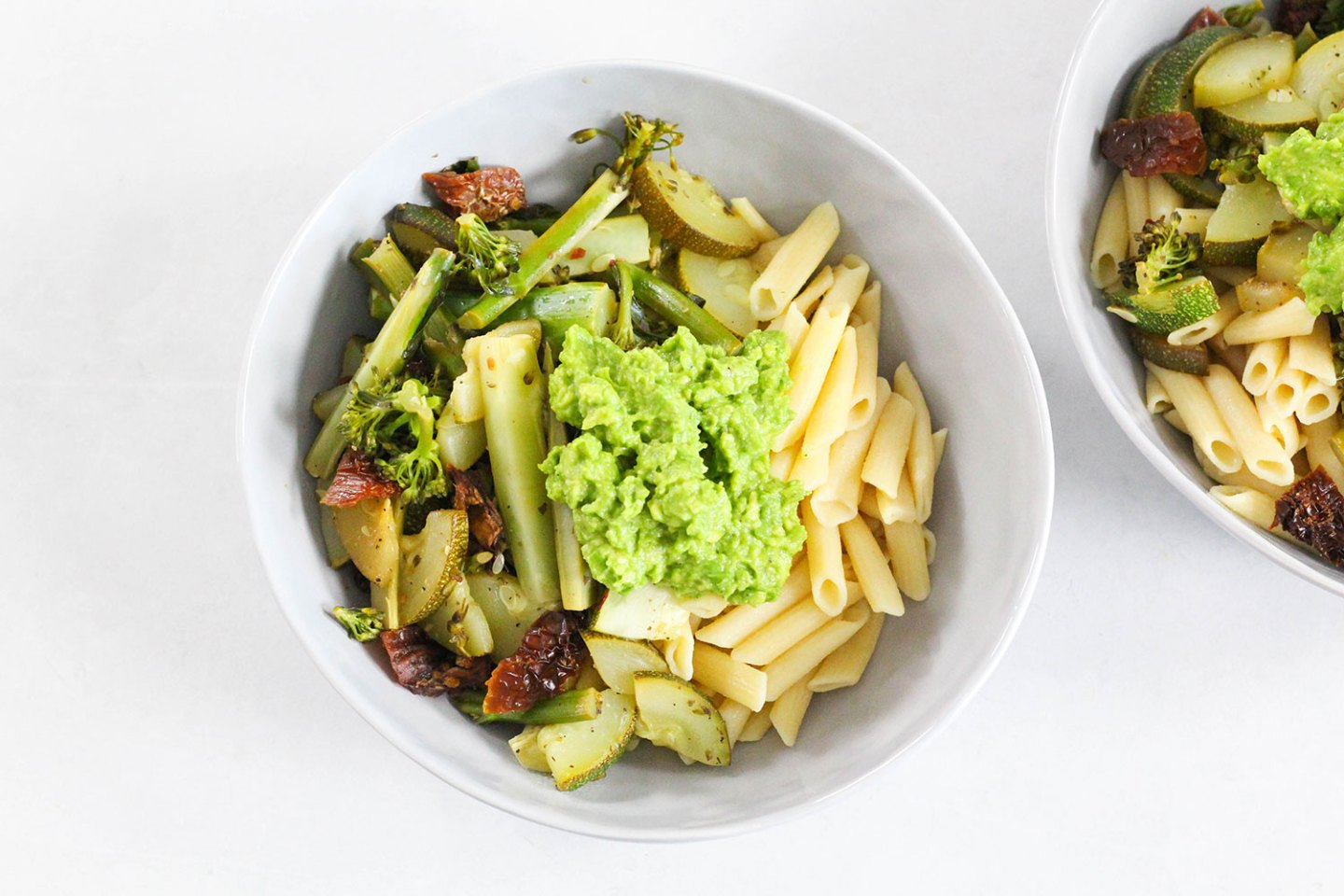 My New Fave 10 Min Dinner (Healthy + Easy Pasta Recipe)