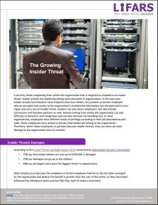 Growing Insider Threats Guide by LIFARS