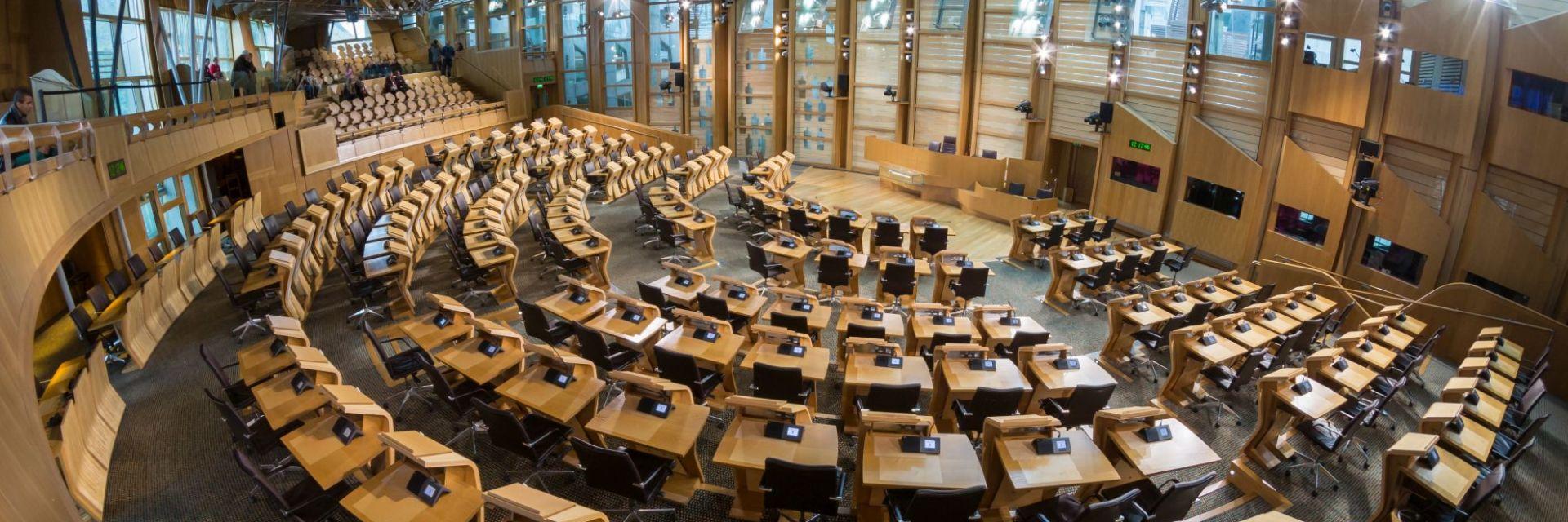 Scottish Parliament Debating Chamber 3