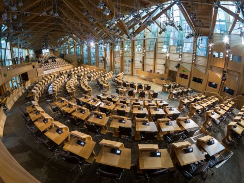Scottish Parliament Debating Chamber 3