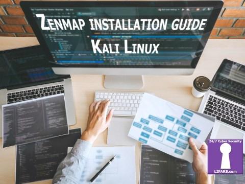 Zenmap installation guide - Kali Linux