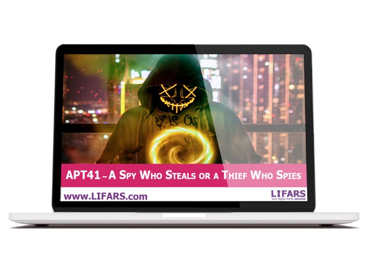 APT41 – A spy who steals or a thief who spies
