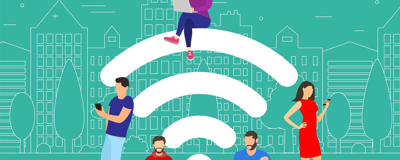How does Public Wi-Fi Allow Cyber Thievery?