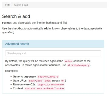 Example of Observable search