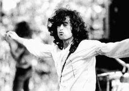 Jimmy Page þegar Zeppelin voru hvað vinsælastir