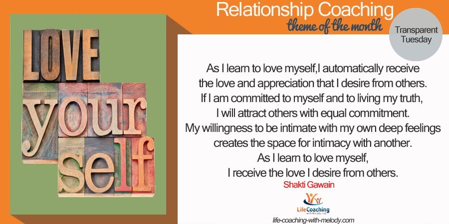 Relationships: Love Your Self