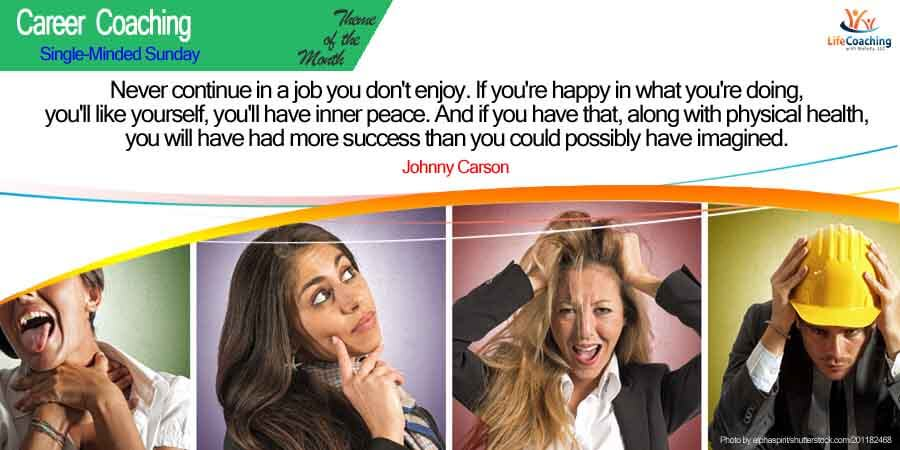 How happy are you in your current job?