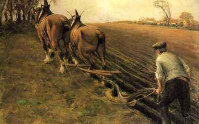 Cleaving the Earth with a Plow