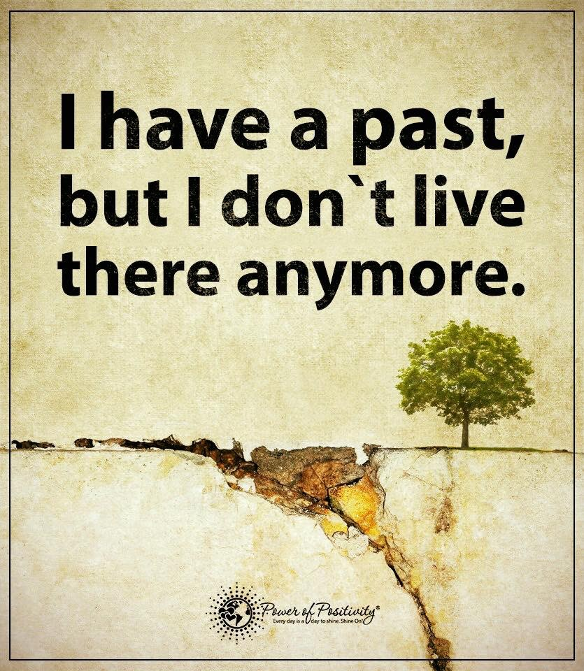 Life Excel Lent 202 I have a past but I don't live there