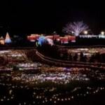 昭和記念公園イルミネーション花火
