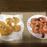 「最高にうまい」ギガ海老で天ぷら作ってみた!!