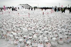 札幌雪祭りつどーむ会場