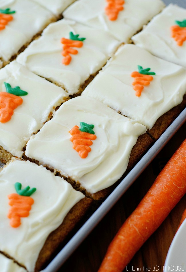 Carrot Sheet Cake Life In The Lofthouse