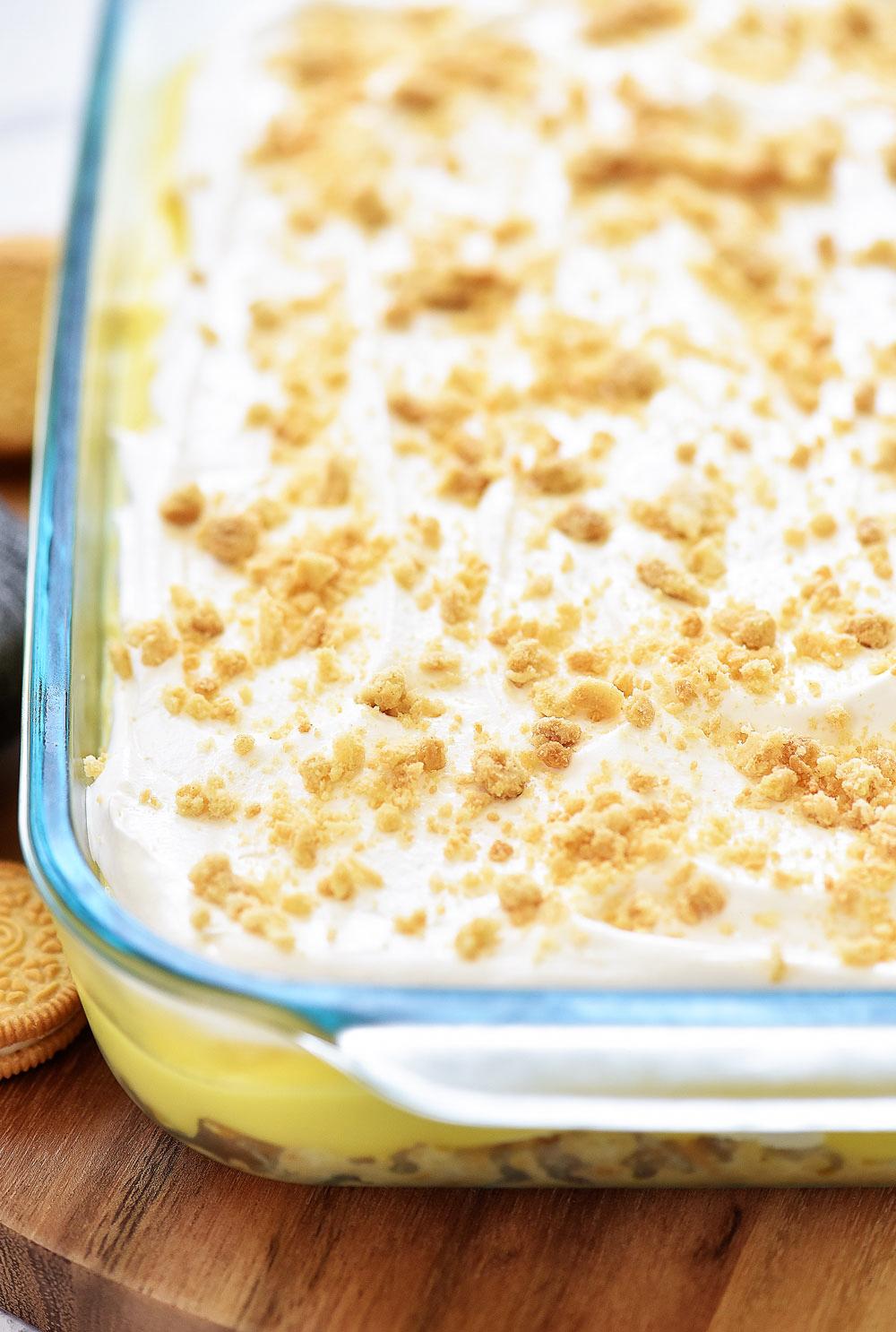 Heavenly Lemon Oreo Dessert