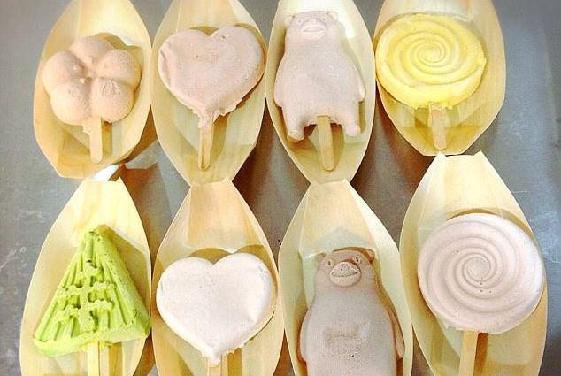 В Японии изобретено не тающее мороженое.