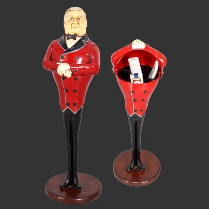 Butler Remote Holder 3D Realistic Figure