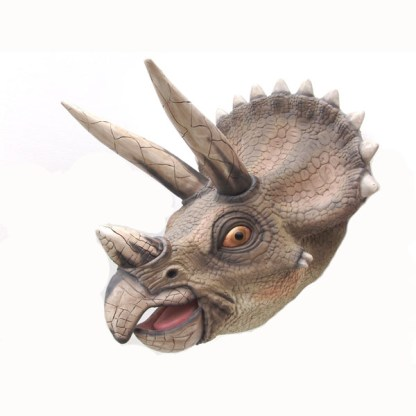 Realistic Models Sculpture Life Sized Model Life Size Replica statue cars Replica Models Dinosaurs life size figurines Albashed Alba shed Triceratops Head 2308-alba-shed-dinosaurs-direct-lifesize-models-wales