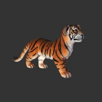 Tiger Cub Standing-Life-size-realistic-model