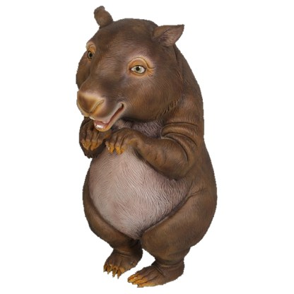 Wombat Smiling Cute Life Size Animal Model