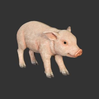Piglet Standing 3D Realistic Statue