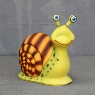 Male Snail 3D Realistic Cartoon Figure