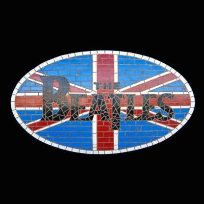 Beatles Union Jack 3D Mosaic Wall Decor
