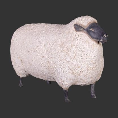 Large Sheep lifesize 3d prop realistic farmyard animal
