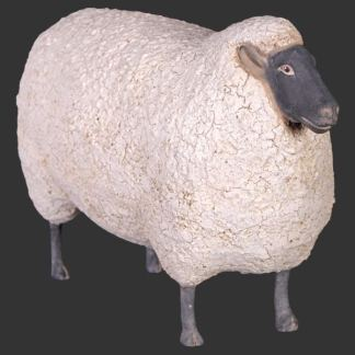 Small Sheep 3d Realistic Farmyard Animal Statue