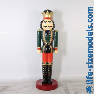 Nutcracker King 6.5ft Figure Life Size Christmas Model