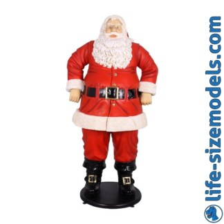 Jolly Santa Jumbo Figure 6ft Father Christmas Model