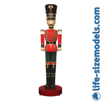 Toy Soldier 10ft Figure 3D Realistic Lifesize Christmas Model