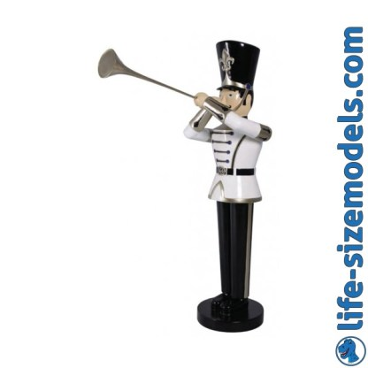 Toy Soldier 6ft Figure-White