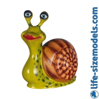 Mrs Snail Cartoon Model