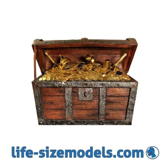 Treasure Chest 3D Realistic Prop