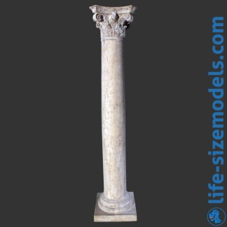 Corinthian Column Garden Ornament