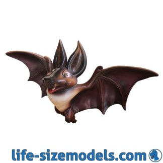 Hanging Bat Statue 3D Realistic Lifesize Model